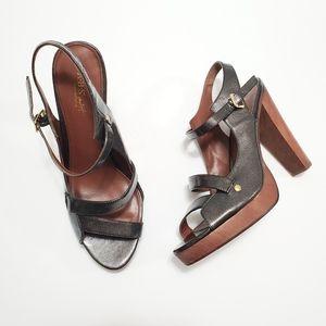 ABS Allen Schwartz Chunky Heels & Platforms Sz 8.5